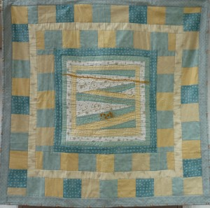Wednesday 21st August  and Saturday 14th September. Judith Barlass will be showing us how to embellish our    work to 'add the magic'. The first session will be preparing the quilt top and the second session will be the embellishment. Zoom in to have a good look at the centre panel of the quilt