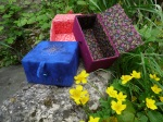 Wednesday 14th May. Box making with Denise.