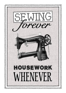 sewing whenever