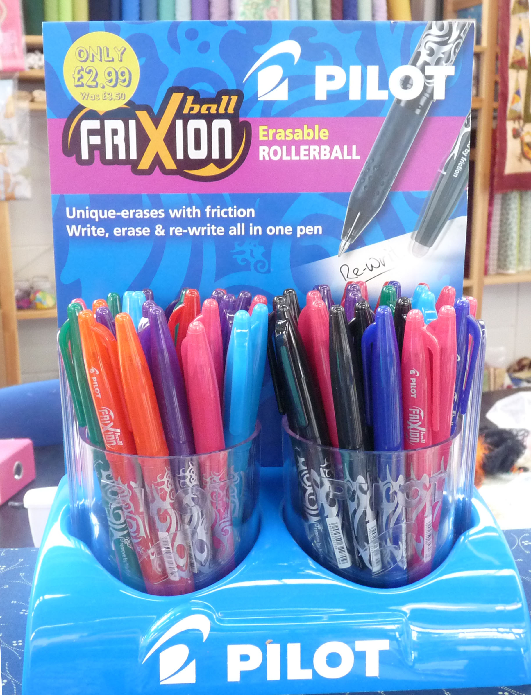 Friction Pens | Quilting Antics : frixion erasable pen for quilting - Adamdwight.com
