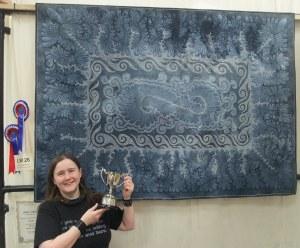 Ferret fossil quilt
