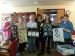 Paula Doyle's wonderful retreat for Quilting Antics