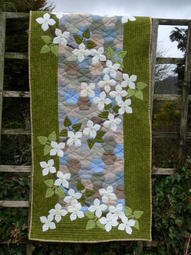 English Country Garden Runner from Quilting Antics